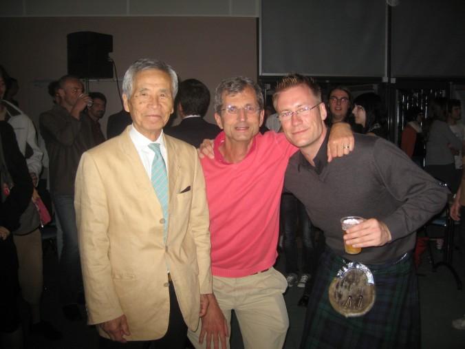 Tamura Sensei Jacques Bardet Scott Reed