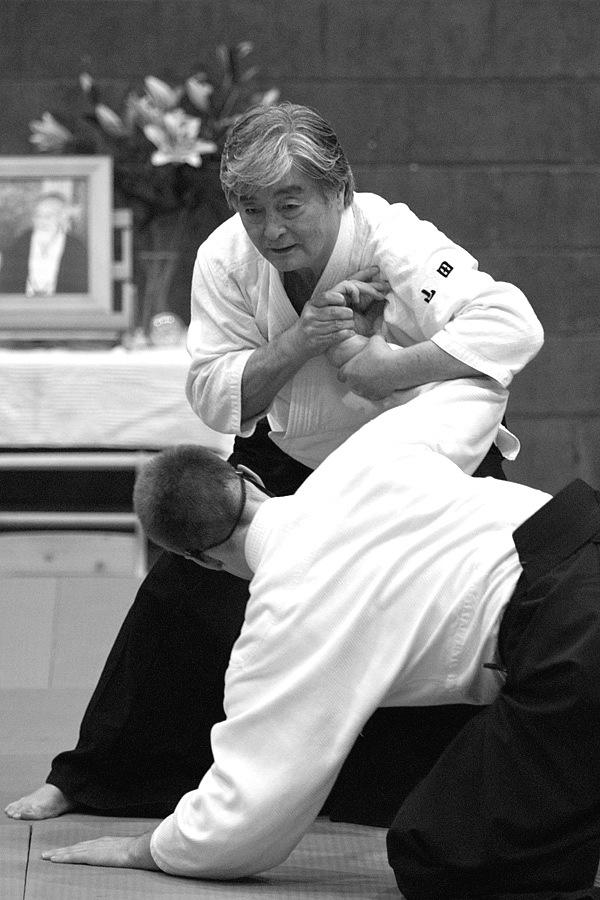 Yamada Edinburgh Aikido Nikyo Scott Reed