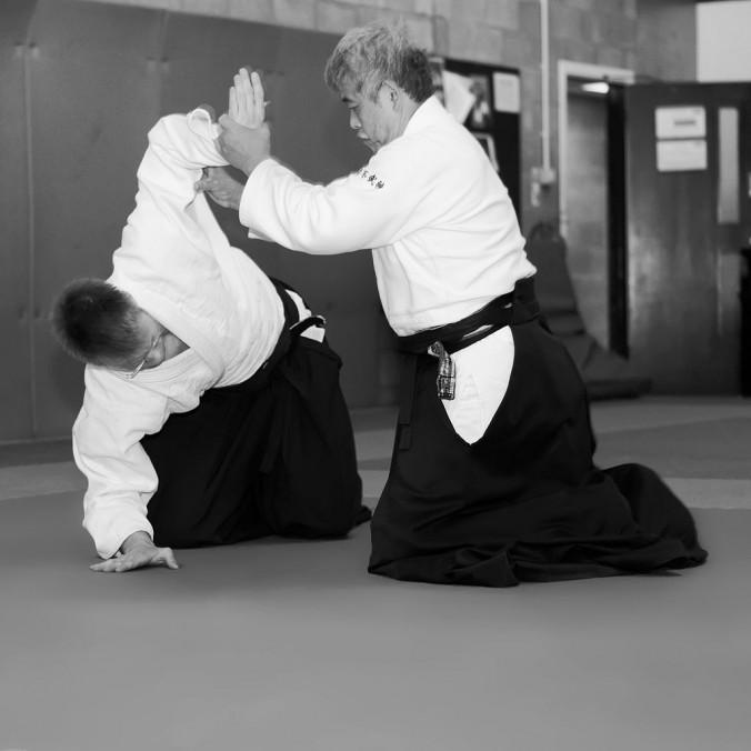 Toshiro Suga Edinburgh Aikido Seminar Suwari Waza