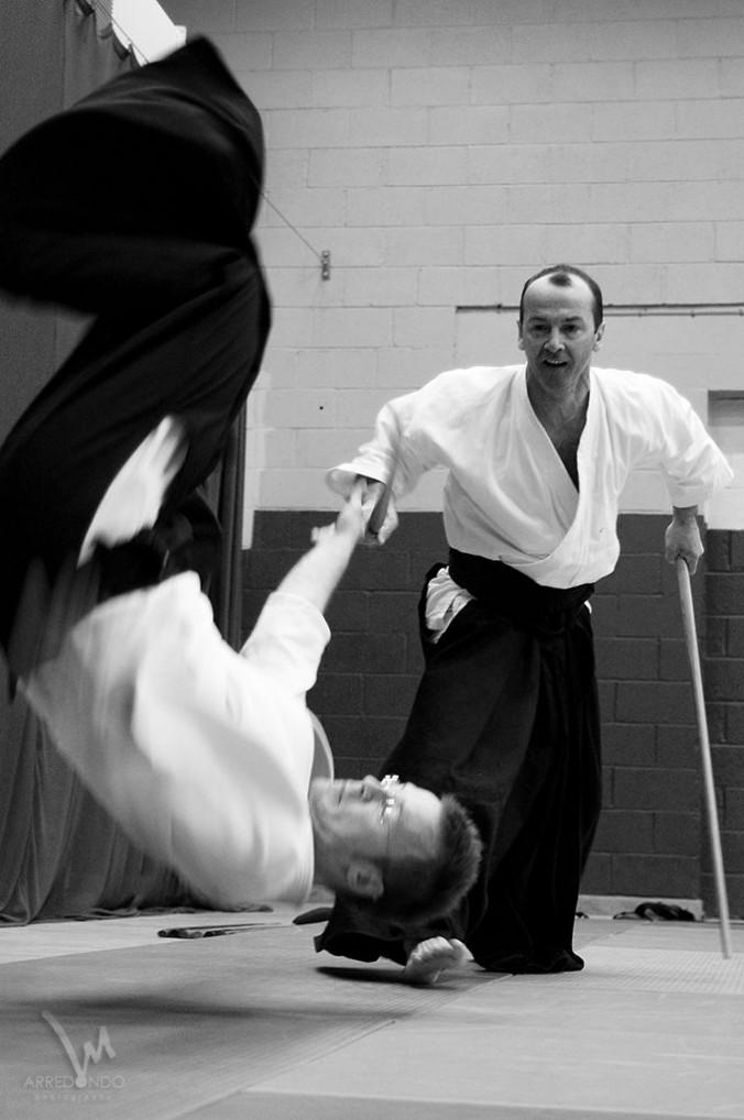 Kumi-tachi Edinburgh Aikido Seminar Toshiro Suga