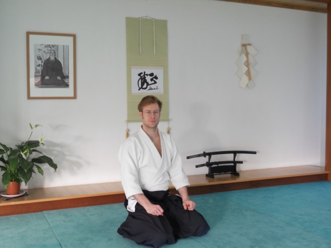 Edinburgh Aikido Instructor Scott Reed
