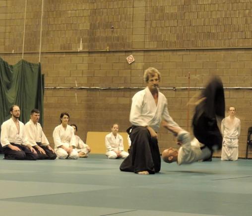 Edinburgh Aikido Jacques Bardet Course media