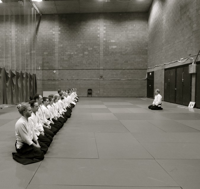 Jacques Bardet Edinburgh Aikido