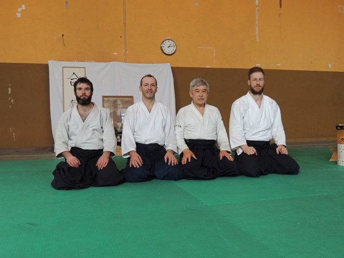 Turin Italy Aikido Toshiro Suga