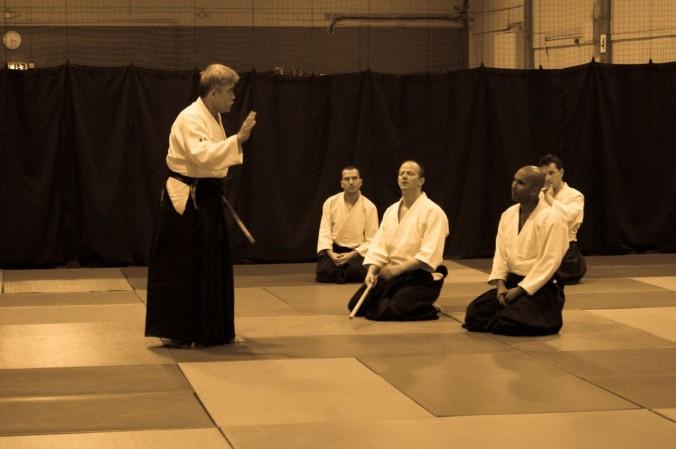 Jo Dori Edinburgh Aikido Seminar Toshiro Suga