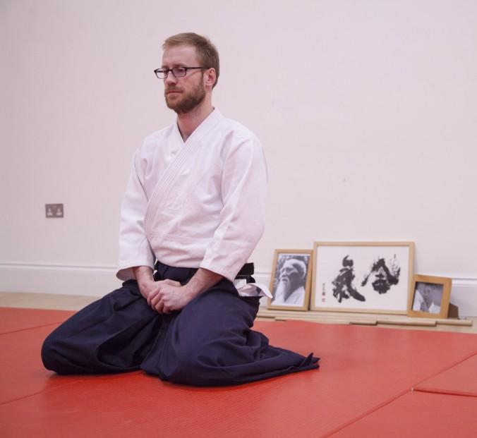 Scott Reed Edinburgh Aikido Instructor