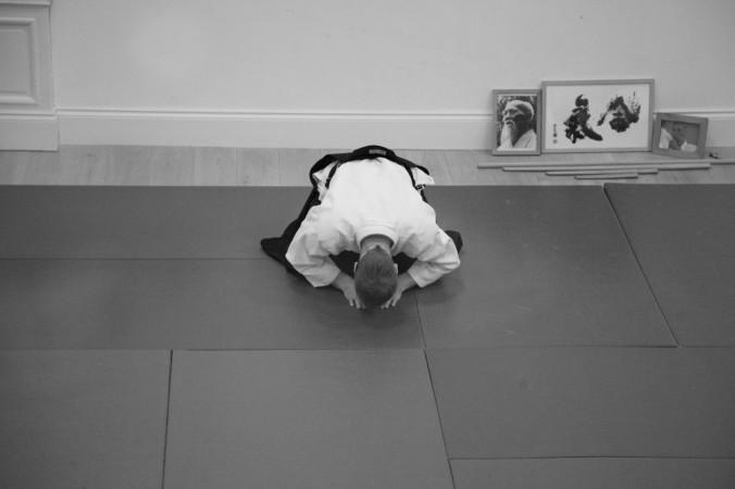 Edinburgh Aikido Class Rei Bow