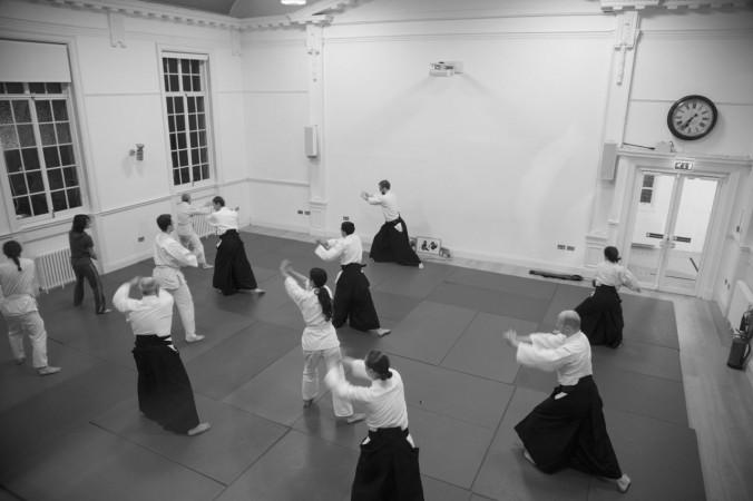 Edinburgh Aikido Class Warm-up