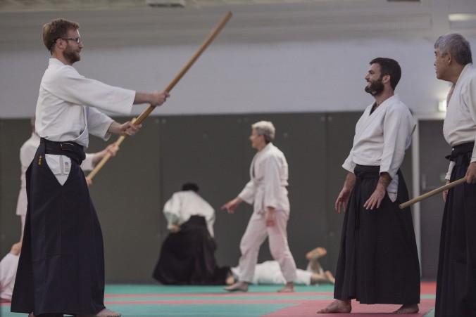 Edinburgh Aikido Seminar Toshiro Suga Tachi Dori