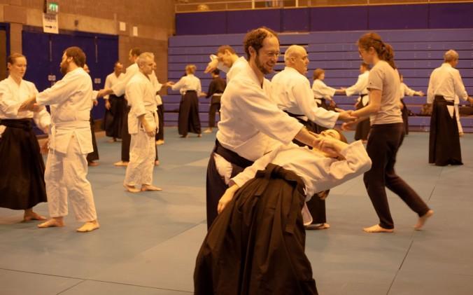 Edinburgh Aikido Seminar Jacques Bardet