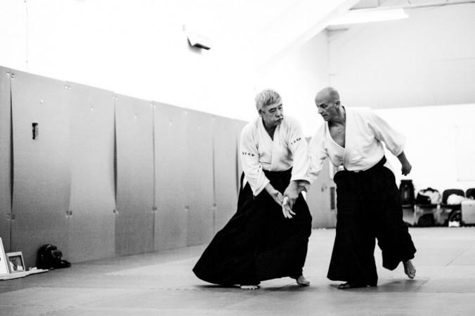 Edinburgh Aikido Toshiro Seminar Kote Gaeshi