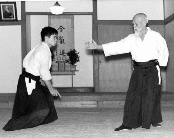 O-Sensei Tamura Sensei Aikido
